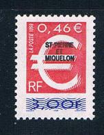St Pierre And Miquelon 681 MNH Overprint 1999 CV 1.25 (S0958)+ - St.Pierre & Miquelon