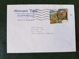 (27135) STORIA POSTALE ITALIA 1986 - 1946-.. République