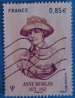 France 2017 : Anne Morgan, Philanthrope Américaine Et Pionnière De L'humanitaire N° 5123 Oblitéré - France