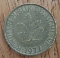 Germany Deutschland   10 Pfennig 1972 F - 10 Pfennig