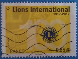 France 2017 : Centenaire Du Lions Clubs International N° 5152 Oblitéré - France
