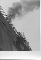 MANUTENZIONE ALLE MURATE -  FORMATO 14,50X10,50 - ORIGINALE D'EPOCA FINE ANNI '40 - Barche