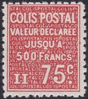 FRANCE, 1933-1934, Colis Postal (Yvert 98 ) - Colis Postaux