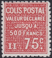 FRANCE, 1933-1934, Colis Postal (Yvert 98 ) - Mint/Hinged