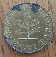 Germany Deutschland   10 Pfennig 1992 F - 10 Pfennig