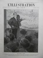 L'Illustration N° 3446 Du 13 Mars 1909 Sven Hedin à Paris; L'impôt Sur Le Revenu; Une Princesse Japonaise à Paris - Zeitungen