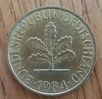 Germany Deutschland   10 Pfennig 1984 J - 10 Pfennig