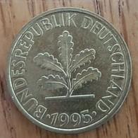 Germany Deutschland   10 Pfennig 1995 D - 10 Pfennig