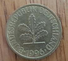 Germany Deutschland   10 Pfennig 1996 J - 10 Pfennig