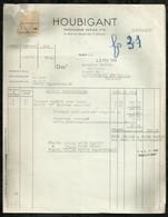 HOUBIGANT . PARFUMEUR . PARIS LE : 03 FEVRIER 1944 . - Droguerie & Parfumerie