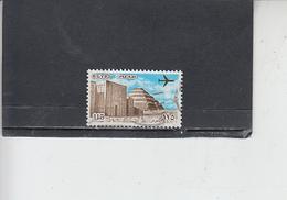 EGITTO  1978 - Yvert  A 161 - Piramide  - Aereo - Posta Aerea