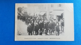 74 - BONNEVILLE - RECEPTION DE M. LE PREFET - FAOBOURG DE LA LIBERTE - Bonneville