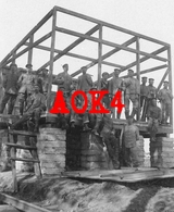 MARINEKORPS FLANDERN Unterstand Yser IJzer Beton Bunker Abri 1917 - Guerre 1914-18