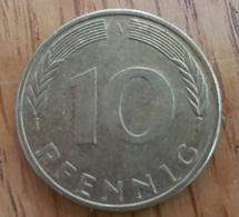 Germany Deutschland   10 Pfennig 1996 A - 10 Pfennig