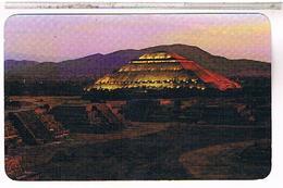 MEXIQUE  PLAZA DE LA LUNA PIRAMIDE DEL SOL   US127 - Mexique