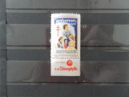 FRANCE TIMBRE CONTRE LA TUBERCULOSE 1955** - Antitubercolosi