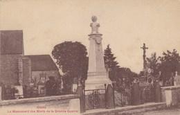 Haute-Marne - Occey - Le Monument Des Morts De La Grande Guerre - Other Municipalities