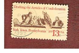 STATI UNITI (U.S.A.) - SG 1700  -  1977  ARTICLES OF CONSTITUTION DRAFTING  - USED - Usati