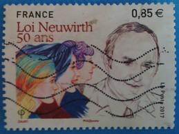 France 2017 : Cinquentenaire De La Loi Neuwirth N° 5121 Oblitéré - France