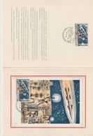 MONACO - Encart CM - 1964 - PHILATEC - Cartes-Maximum (CM)
