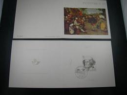 "BELG.1969 1491 FDC Filacard  : "" Postphila 69 ,P.Bruegel "" - Souvenir Cards"