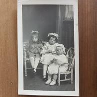 Chateaulin.carte Photo Enfants Et Bébé,famille Le Doaré - Châteaulin