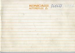 AD227 Anleitung Manual KONICA Autoreflex T, 4-sprachig - Technical Plans
