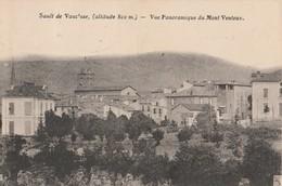 CPA 84 SAULT  VUE PANORAMIQUE DU MONT VENTOUX - France