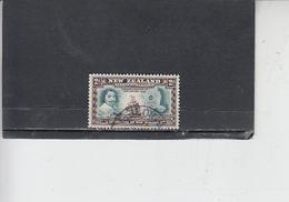 NUOVA ZELANDA  1940 - Yvert  246 . Tasman - Nave - 1907-1947 Dominion
