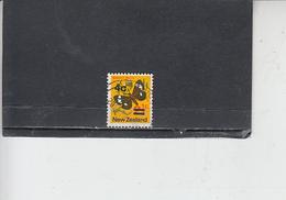 NUOVA ZELANDA  1971 - Yvert  539 - Insetti - Farfalle - 1907-1947 Dominion
