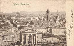 (C).Milano.Panorama.F.to Piccolo.Viaggiata (c17) - Milano