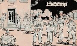 MILITARIA HUMOUR LES TIRE AU Q - Humoristiques