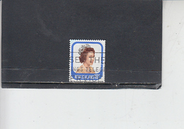 NUOVA ZELANDA  1977-9 - Yvert  701a - Elisabetta - Nuova Zelanda