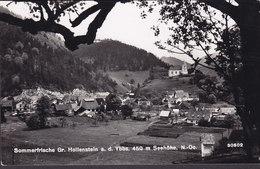 Austria PPC Sommerfische Gr. Hollenstein A. D. Ybbs HOLLENSTEIN A. D. YBBS 1955 Echte Real Photo Véritable (2 Scans) - Hollabrunn