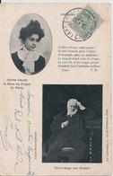 Cpa Victor Hugo - Ecrivains