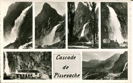 007190  Cascade De Pissevache  Mehrbildkarte - VS Wallis
