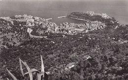 Monaco PPC La Cote D'Azur Vue Generale Prise De La Turbie MONTE-CARLO 1955 Echte Real Photo Véritable (2 Scans) - Monaco
