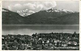 007193  Morges - Le Lac Et Le Mont Blanc  1965 - VD Waadt