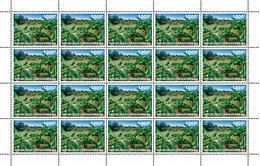 Central Africa. 2019 Vegetation. (local03c)  LOCAL ISSUE - Alimentation