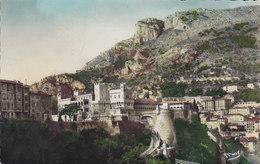 Monaco PPC Palais Du Prince Et La Tête De Ghien MONTE-CARLO 1948 12 Fr. Louis II. Echte Real Photo Véritable (2 Scans) - Monaco