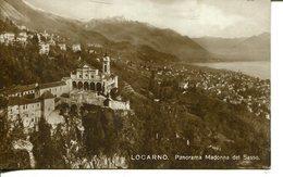 007195  Locarno - Panorama Madonna Del Sasso - TI Tessin