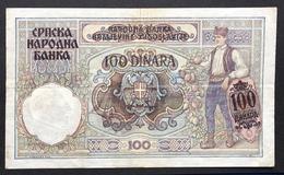 Serbia 100 Dinar 1941 - Serbie