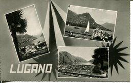 007197  Lugano  Mehrbildkarte - TI Tessin