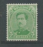 BELGIQUE: **, N°137, TB - 1915-1920 Albert I