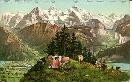 007200  Berner Oberland  Panoramakarte - BE Bern