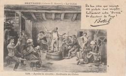 CHANSON DE BOTREL APRES LA RECOLTE GOUTERIE DE CIDRE - France