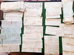 Lot De 170  Lettres De Changes 1847 48 49 Avec Tempons Fiscaux Royaux 6 Variétés Et Lettres De Banques... - Bills Of Exchange