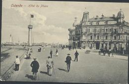 61-220 Belgium Ostende Hotel Du Phare Sent To Finland 1908 - Oostende