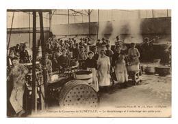 L'USINE DE Lunéville FABRIQUE DE CONSERVES PETIT POIS                                                              .E. 3 - Luneville