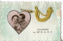 Amoureux Militaire 39°R A R F BLASON ET Décoration - Guerre 1914-18